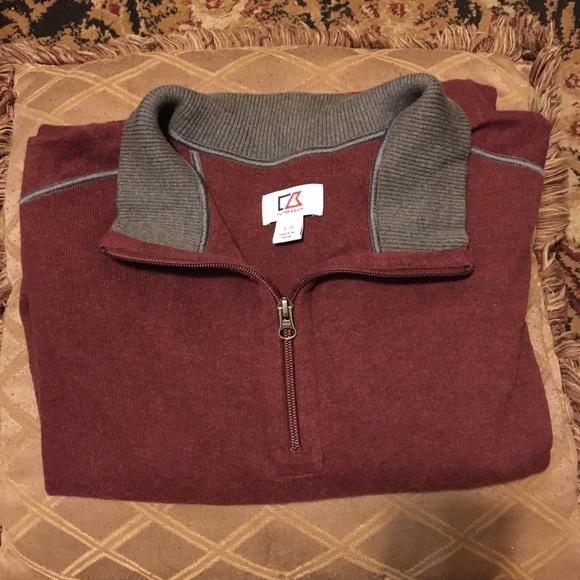 Vintage cutter & buck sweater sz L